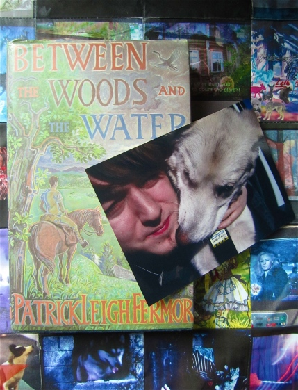 "'R and Lily bookmark and ""Between the Woods and the Water"""