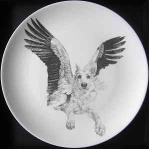 "'""Sweet"", Wolves, In Homage to the Last Great Carnivores of Eurasia' Limited Edition China Plate Series, 2013"