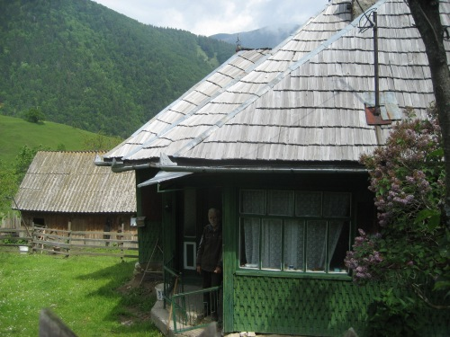 Cottage in mountain village, Transylvania, 2008