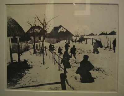 Official USSR photograph of Red Army in combat WWII, Artist's own collection.