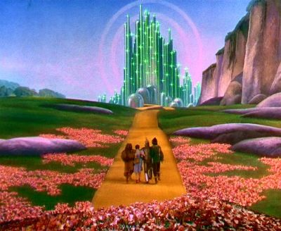 The Emerald City, 'The Wizard of Oz', Metro-Goldwyn-Mayer