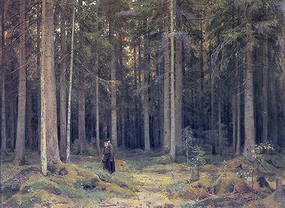 'Countess Mordvinov's Forest (Лес графини Мордвиновой)', Ivan Shishkin, 1891, Tretyakov Gallery, Moscow, Russia