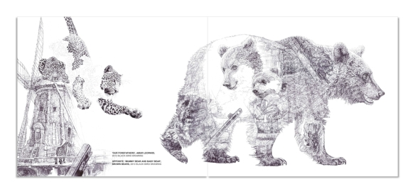 'Our Forefathers' & 'Mummy Bear and Baby Bear', 'War + Peace', 2014