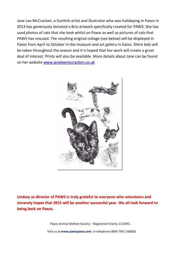 Page 6 Credit: Paxos Animal Welfare Society – Registered Charity 1155941