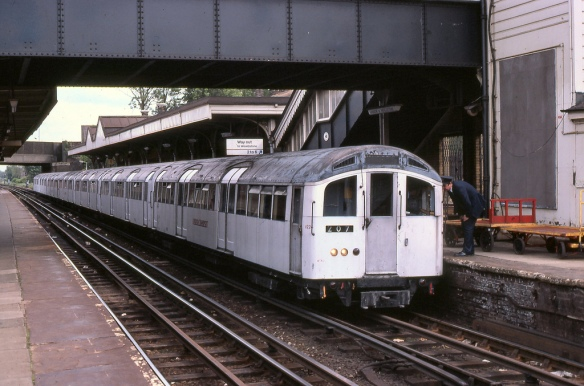1959 Stock Tube Train