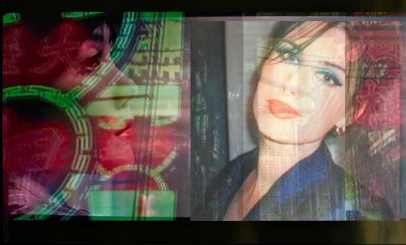 Experimental TV photo montage inspired by staff taxi journey's, 2005