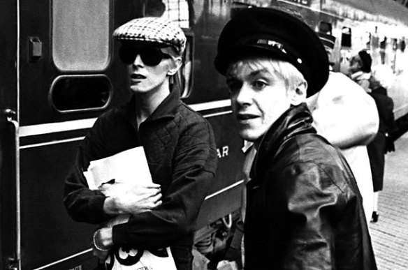Iggy Pop and David Bowie, Berlin 1977